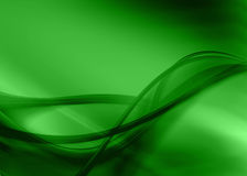 Green abstract. Green asbtract composition with flowing design vector illustration