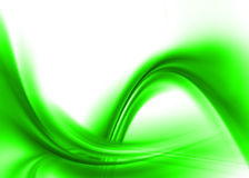 Green abstract. Green asbtract composition with flowing design Royalty Free Stock Photo