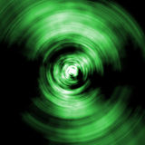 Green abstract. A simple green abstract circular concentric shape stock illustration