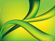 Green abstract backgraund. Vector illustration Royalty Free Stock Photos