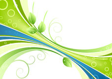 Green abstract background Royalty Free Stock Image