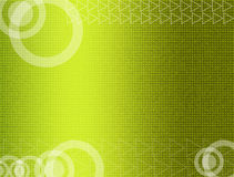Green abstract background. Green background with white abstract shapes. Business and modern presentation Stock Image