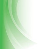 The green abstract background. Stock Photography
