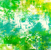 Green abstract background Stock Images