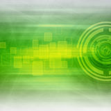 Green Abstract Background. Green Futuristic Technology  Abstract Background Royalty Free Stock Image