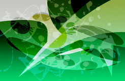 Green abstract background. Computer generated illustration of an abstract background vector illustration
