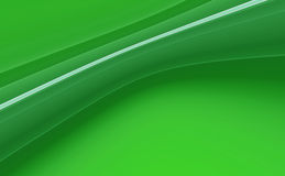 Green abstract background. Green 3D rendered abstract background Stock Images