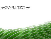 Green Abstract Background Stock Image