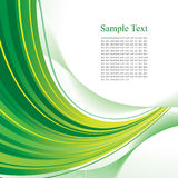 Green abstract background. Green abstract template with copy space. Vector Royalty Free Stock Images