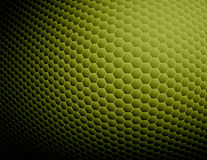 Green abstract background. Olive green & black honeycomb textured background Stock Images