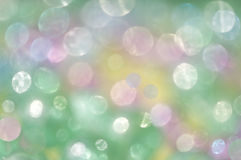 Green abstract background. Background of green abstract with the colored balls Stock Photos