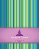 Green Abstract Background. Not only for yoga, also for any type of your company style Stock Photos