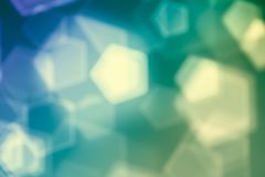 Green abstract background, blurred lights bokeh Royalty Free Stock Images