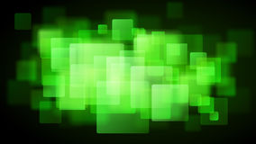 Green abstract background of blurry squares Royalty Free Stock Photos