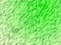 Green abstract background, crumpled surface Stock Photos