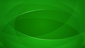 Green abstract background. Abstract background of curved lines in green colors royalty free illustration