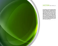 Green abstract background design Stock Photography