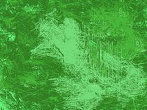 Abstract green grunge and dirty background, verdant design texture. Green abstract background. Grunge texture. Vintage wallpaper. Black corners royalty free illustration