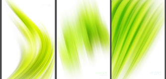 Green Abstract background high technology collection Royalty Free Stock Images