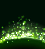 Green abstract background. The illustration contains the image of abstract background Royalty Free Stock Image