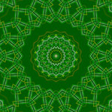 Green abstract background, light. Green abstract background, kaleidoscope light Stock Images