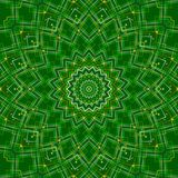 Green abstract background, light. Green abstract background, kaleidoscope light Stock Photography