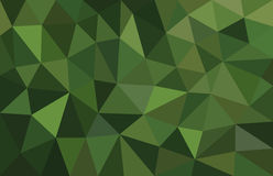 Green abstract background low poly Stock Photo