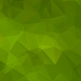Green abstract background polygon Stock Image