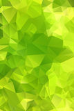 Green abstract background polygon. Royalty Free Stock Photo