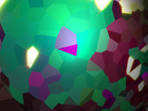 Green abstract background. With polygonsn vector illustration