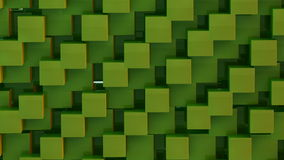 Green abstract background seamless loop stock video