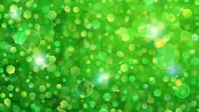Green abstract background of small hexagons. Abstract background of small hexagons in green colors vector illustration