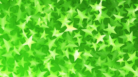 Green abstract background of small stars Stock Image