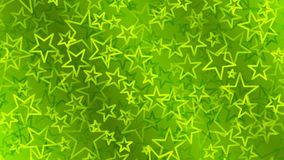 Green abstract background of small stars Royalty Free Stock Images