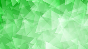 Green abstract background of small triangles. Abstract background of small triangles in green colors Stock Illustration