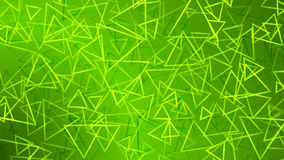 Green abstract background of small triangles. Abstract background of small triangles in green colors Vector Illustration