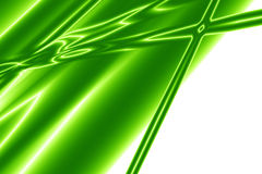 Green abstract background. With some folds and highlights Stock Image