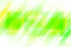 Green abstract background. Green abstract with square background Royalty Free Stock Photography