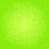 Green abstract background with stars Royalty Free Stock Photo