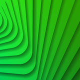 Green abstract background. Green stripes with shadow. Abstract background. Vector illustration Royalty Free Stock Photo