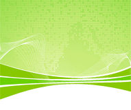 Green abstract background with texture Royalty Free Stock Photography
