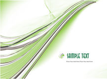 Green abstract background. Vector Stock Images