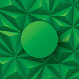 Green abstract background vector. Royalty Free Stock Photo