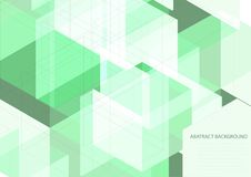 Green abstract background. Green abstract vector eps background royalty free illustration