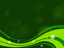 Green abstract background - vector illustration. Royalty Free Stock Image