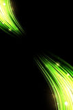 Green Abstract Background. Green Abstract vector wallpaper on black background Royalty Free Stock Photography