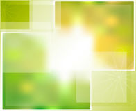 Green abstract background for visual communication Stock Image