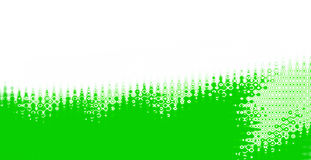 Green abstract banner Royalty Free Stock Image