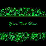 Green Abstract Borders Of Stripe Stock Images