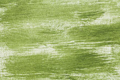 Green abstract with camvas texture Royalty Free Stock Image